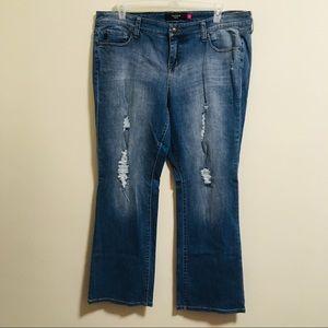 Torrid Distressed Jeans 18